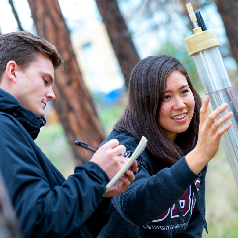 UBC Okanagan Students in the field