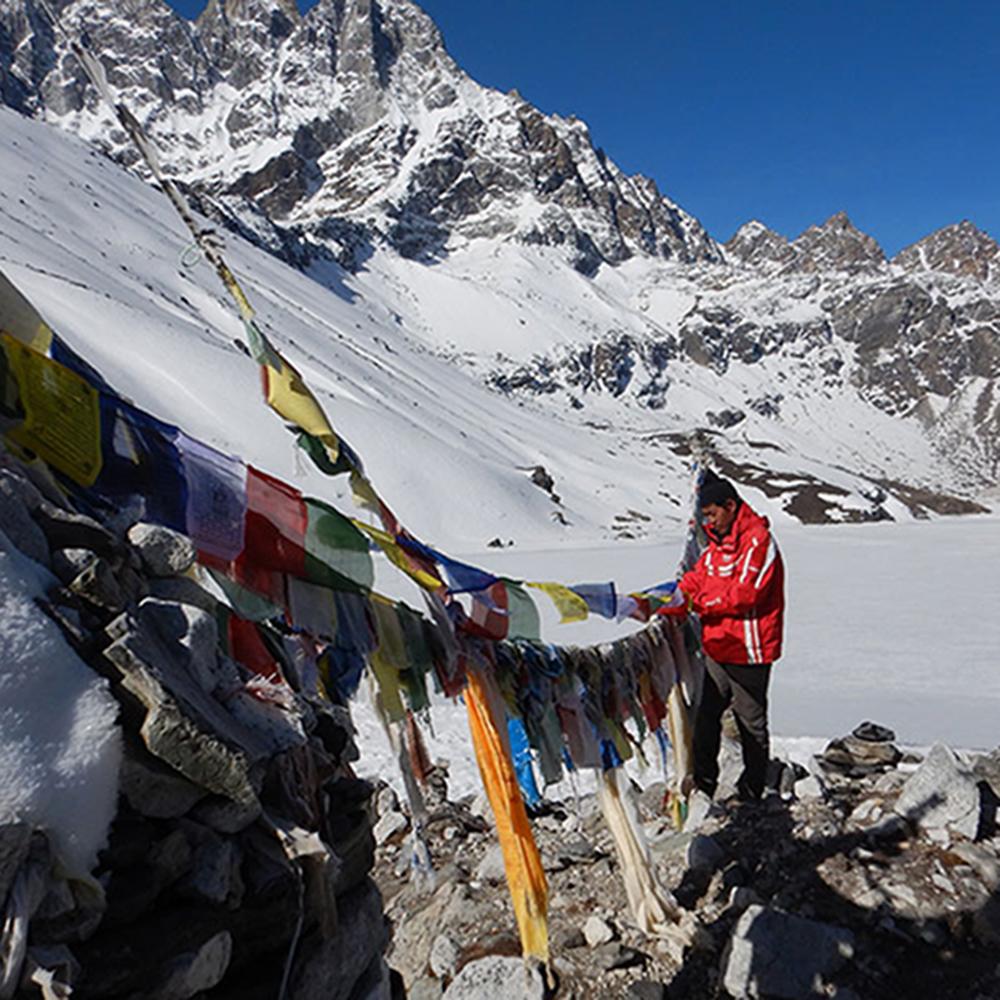 Kyle Larson in Nepal