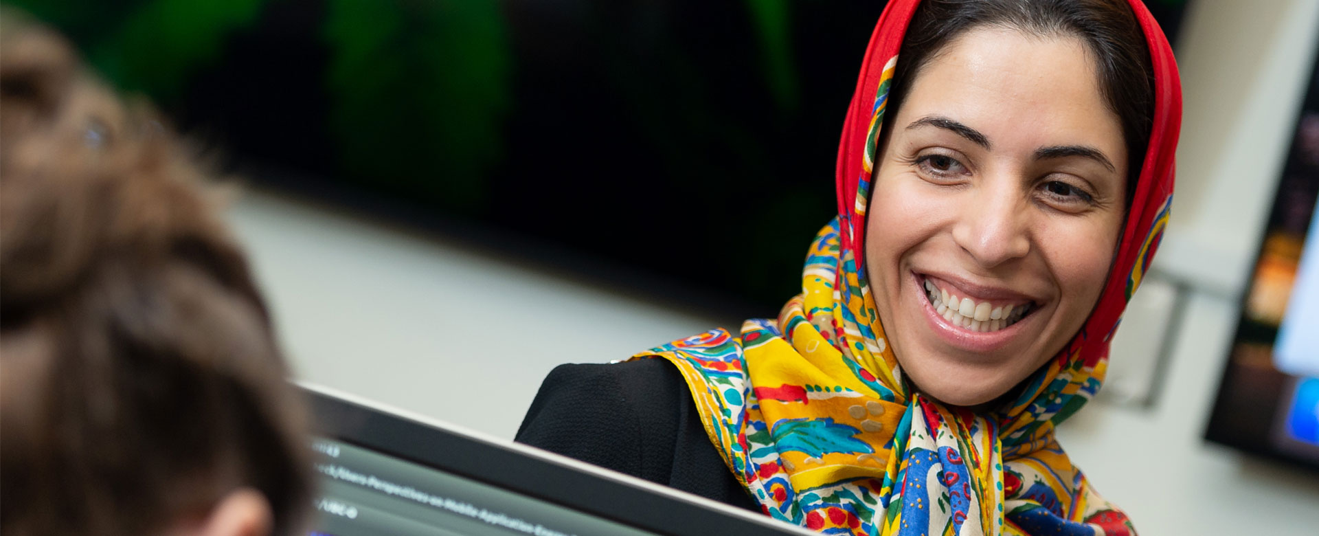 Woman professor at UBCO